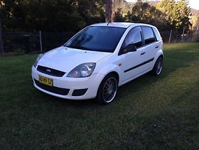 ford fiesta  tinted windows mags manual log books