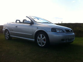 2003 VAUXHALL ASTRA COUPE CONVERTIBLE BERTONE SILVER STUNNING EXAMPLE 1.8 16V image 6