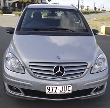 Mercedes-benz B180 CDI (2006) 5D Hatchback in SILVER Automatic