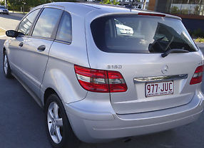 Mercedes-benz B180 CDI (2006) 5D Hatchback in SILVER Automatic image 3