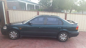 Honda civic gli 1996 manual sedan green 1 6 ek for Honda civic 20017