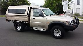 NISSAN PATROL ST 4x4 2000 Coil C/Chassis Manual 4.2L Diesel Turbo....landcruiser