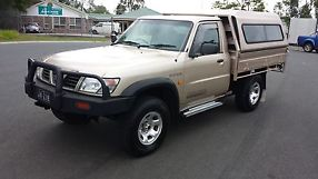 NISSAN PATROL ST 4x4 2000 Coil C/Chassis Manual 4.2L Diesel Turbo....landcruiser image 2