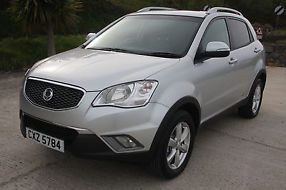 2012  Korando ESTOP SPECFULL YEAR MOTFULL LEATHER INTERIOR