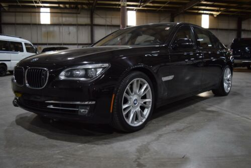 2013 7 Series 760Li With 49093 Miles, Ruby Black Metallic 4dr Car Automatic 12 C