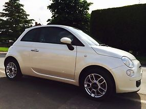 FIAT 500 1.4 SPORT 2010 REG FUNK WHITE LOW MILEAGE TAX & MOT image 4