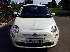 FIAT 500 1.4 SPORT 2010 REG FUNK WHITE LOW MILEAGE TAX & MOT image 5
