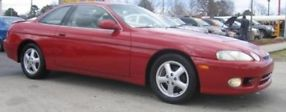 2000 Lexus SC300 Base Coupe 2-Door 3.0L