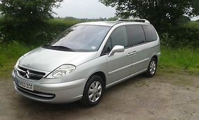 2003 CITROEN C8 SX HDI 16V SILVER.TOW BAR.12 months MOT. Taxed until 31/07/2014  image 1