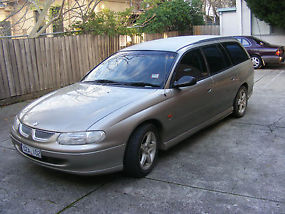 VT holden commodore station wagon dual fuel with current roadworthy .