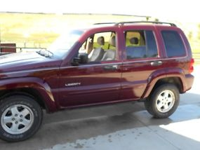 2002 Jeep Liberty Limited Sport Utility 4-Door 3.7L image 3