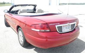 2004 Chrysler Sebring Limited Convertible Very Low Miles