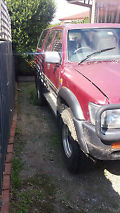1992 Toyota Hilux Surf SSR-X Wide Body. Suit Restore/Parts. image 8