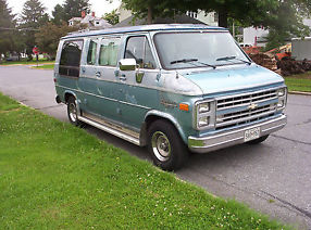 1987 Chevrolet G-20 Conversion Van 106,160 Original Miles