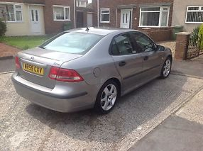 2005 SAAB 9-3 VECTOR SPORT TID GREY FACTORY FITTED SUN ROOF SAT NAV image 1