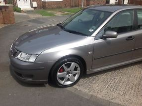 2005 SAAB 9-3 VECTOR SPORT TID GREY FACTORY FITTED SUN ROOF SAT NAV image 2