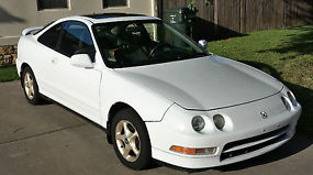 1997 ACURA INTEGRA GS-R HATCHBACK B18C1 DOHC VTEC 5 SPEED MANUAL WHITE