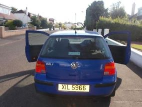 Blue Volkswagen Golf Match FOR SALE !!! Excellent Condition!! £1,650 ONO !! image 6