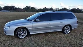 Holden Berlina (2005) 4D Wagon 4 SP Automatic (3.6L - Multi Point F/INJ) 5 Seats