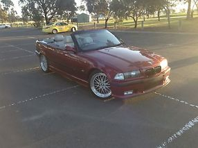 BMW CONVERTIBLE 328i 1996 Drive It or Wrecking Parts