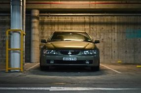 2003 Holden Commodore VYII Berlina Martini Grey Automatic 4sp A Sedan not ford image 2