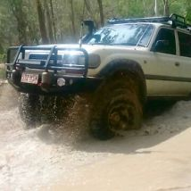 Toyota Landcruiser (4x4) (1993) 4D Wagon Automatic (4.5L - Electronic...