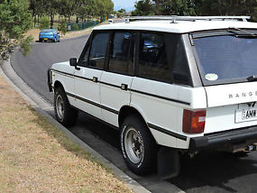Range Rover Highline 4X4 (1984) 4WD Wagon Manual 3.5L Rego to August 2016 image 2