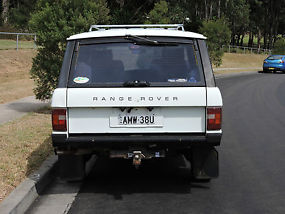 Range Rover Highline 4X4 (1984) 4WD Wagon Manual 3.5L Rego to August 2016 image 6