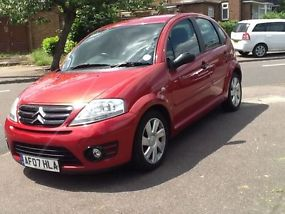 2007 CITROEN C3 VTR HDI RED image 4