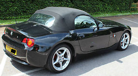BMW Z4ROADSTER SPORTS CONVERTIBLE 2.5I BLACK image 2