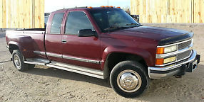 1995 Chevrolet Silverado 3500 4x4 Dually Low Miles 1993 1994 1995 1996 1997 1998