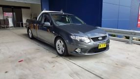 Ford Falcon (2009) Ute Manual (4L - Multi Point F/INJ) 2 Seats