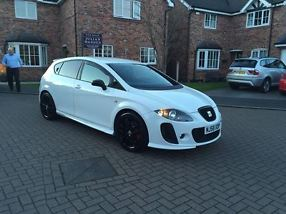 2008  LEON CUPRA K1 CANDY WHITE STUNNING ORIGINAL EXAMPLE!!! MUST BE SEEN!!!