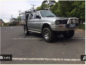 Mitibishi triton mk,ute,dual cab,manual,4x2,v6,tool box,4x4,off road