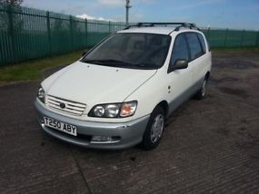 1999 TOYOTA PICNIC GLS WHITE FULL TOYOTA SERVICE HISTORY 1 PREVIOUS OWNER 64K