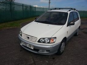 1999 TOYOTA PICNIC GLS WHITE FULL TOYOTA SERVICE HISTORY 1 PREVIOUS OWNER 64K image 2