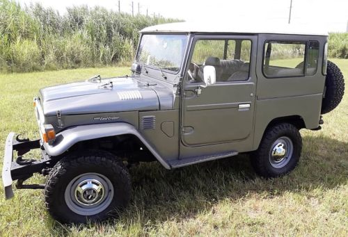 1980  Land Cruiser FJ40