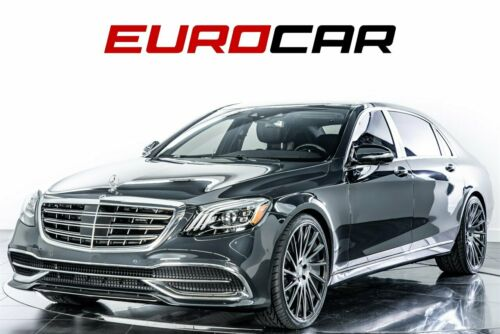 2018  S-Class Maybach S 560 4dr Car 8 Cylinder Engine 4.0L/243 Anth