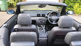 BMW 1 Series Convertible 120i M SPORT Black image 4