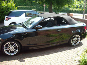 BMW 1 Series Convertible 120i M SPORT Black image 6