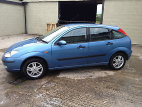 2001 FORD FOCUS 1.6 Zetec 5dr Hatchback, 45000 miles only, Bargain !! image 3