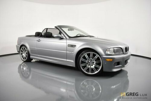 2005  3 Series M3 Convertible Gas 6-Cyl 3.2L/195 Silver Gray Metallic